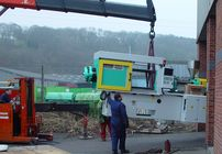 AKI takes delivery of latest Arburg injection moulding machine