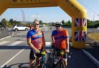 AKI Team raise over £1000 in 'Wheelie Big Cycle' for St Michaels Hospice