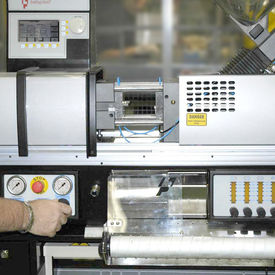 Micro Moulding A big deal at AKI - Babyplast moulding machine