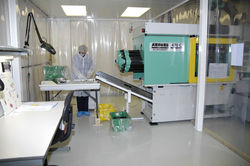Controlled Environment - Injection Moulding Machine in a Controlled Environment