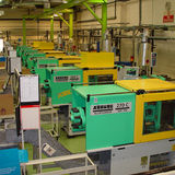 Inside our factory - Arburg Moulding Line