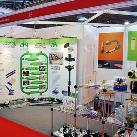 AKI team eagerly await 2013 PDM exhibition - Our Interplas 2011 Stand