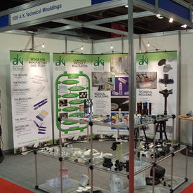 Plastics Design & Moulding 2010 - The AKI stand at the Plastics Design & Moulding Exhibition